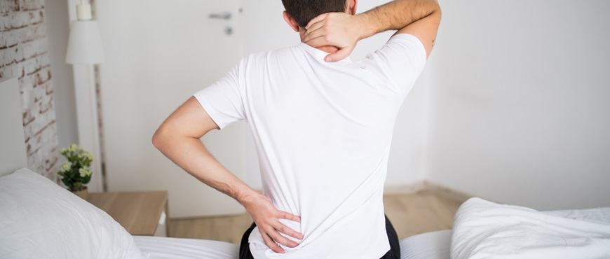 Tratamiento para la dorsalgia, evita el estrés