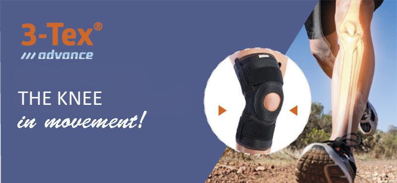 A new design for Orliman 3Tex Advanced knee supports
