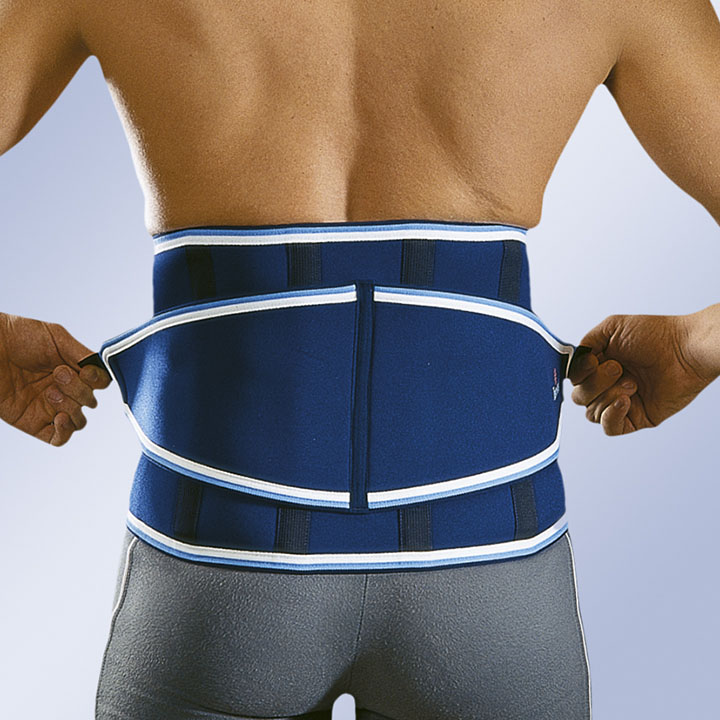 REINFORCED NEOPRENE BACK SUPPORT