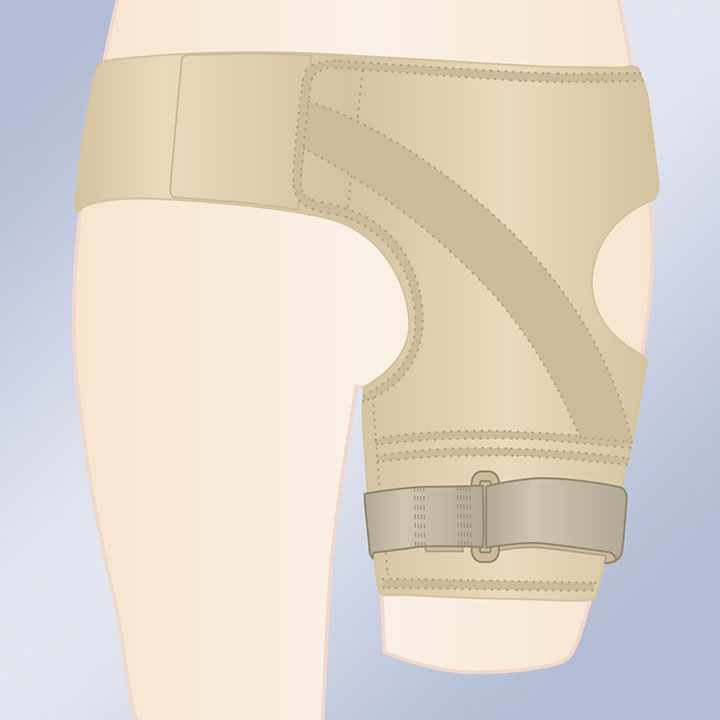 NEOPRENE SUPPORT BELT FOR FEMURAL PROTHESIS