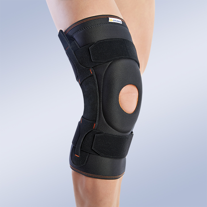 KNEE BRACE WITH POLYCENTRIC JOINTS