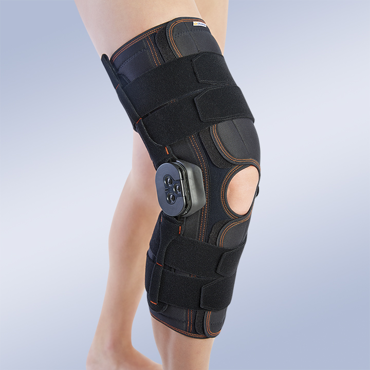 LONG / OPEN FLEXION-EXTENSION KNEE SUPPORT