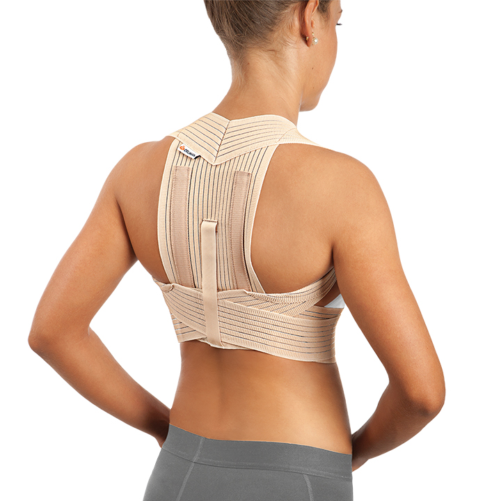 BREATHABLE REINFORCED SHOULDER SUPPORT