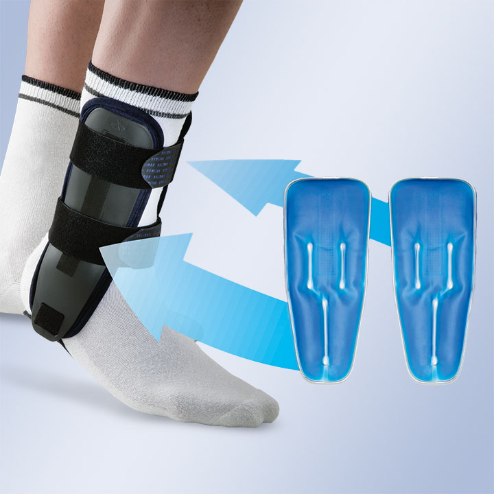 ANKLE ORTHOSIS WITH GEL