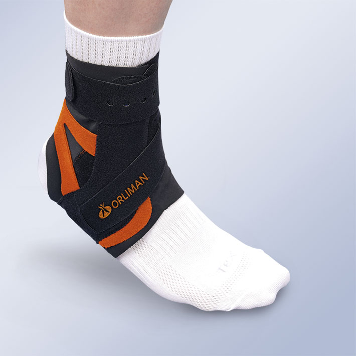 ALTTEX ANKLE BRACE WITH MEDIOLATERAL STABILISING SPLINT