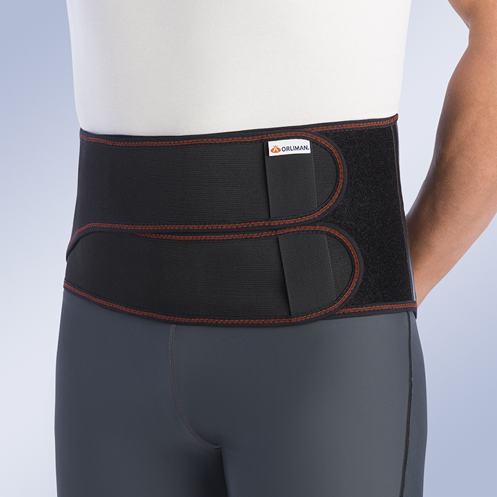 HIGH-CONTAINMENT LUMBAR BACK SUPPORT