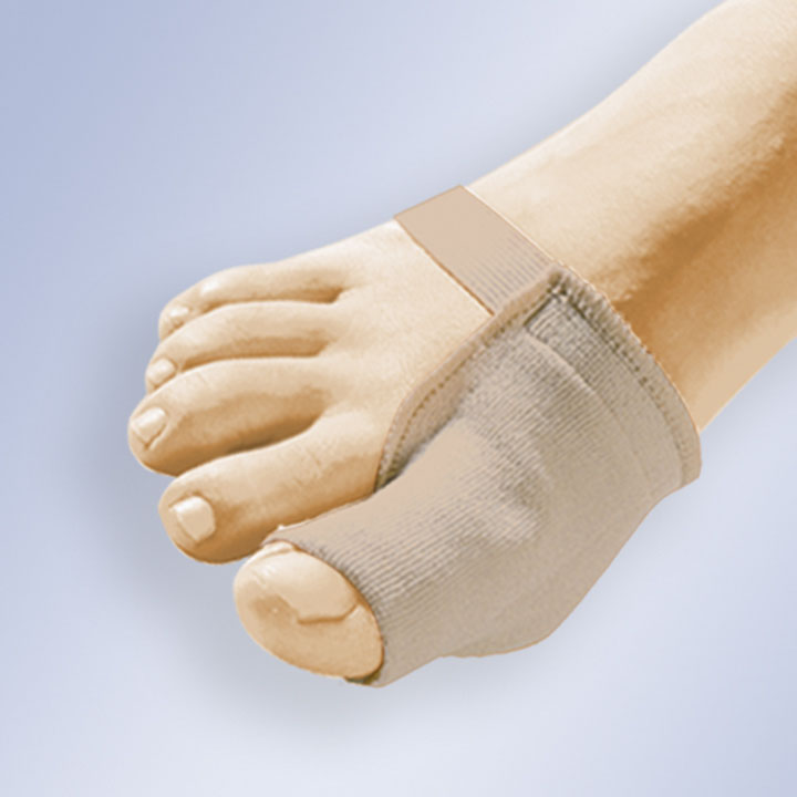 PROTECTIVE BUNION SHIELD IN GEL WITH FABRIC