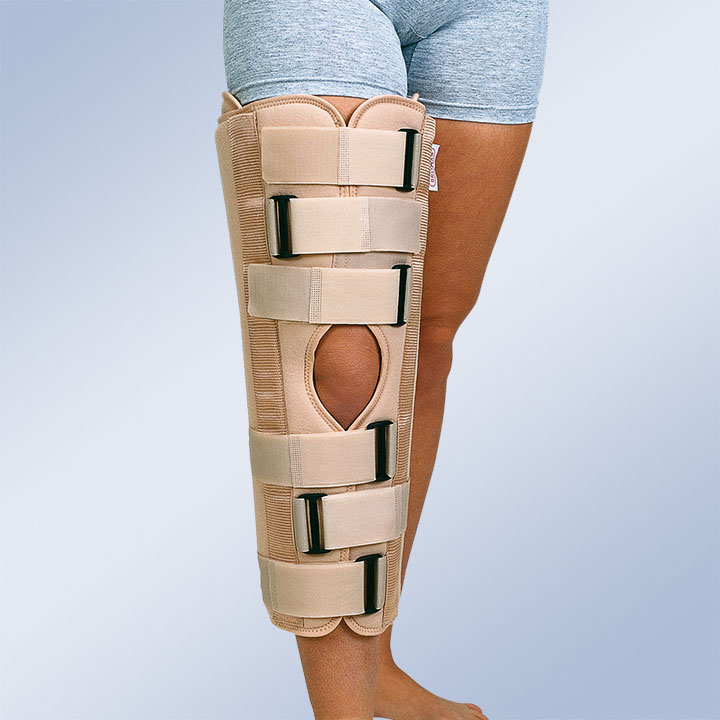 THREE PANELS KNEE IMMOBILIZATOR 0º