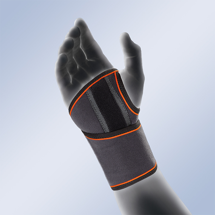 WRAPAROUND WRIST SUPPORT WITH PALMAR SPLINT