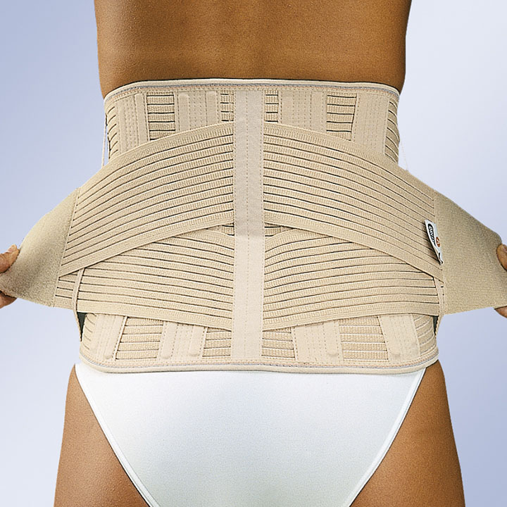 REINFORCED ONE SIZE LUMBAR BACK SUPPORT