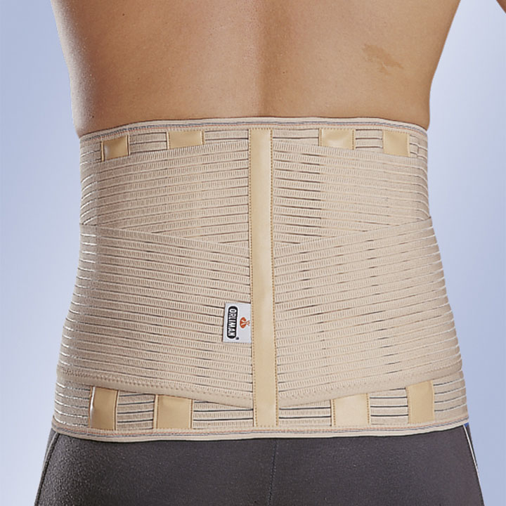 "REINFORCED LUMBAR BACK SUPPORT ""LUMBITRON STABLE FORTE"""