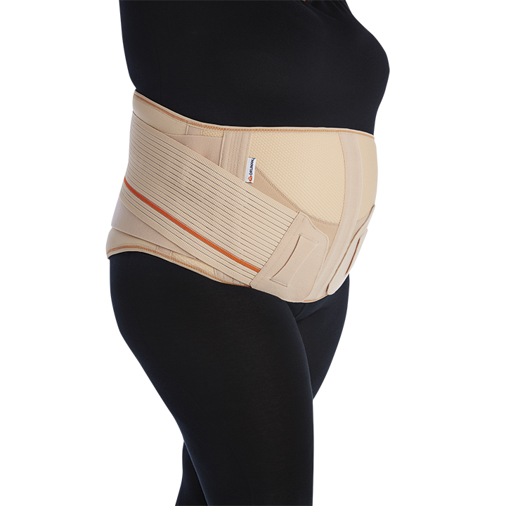 LUMBOSACRAL BACK SUPPORT BELT WITH DUAL TENSIONER SYSTEM
