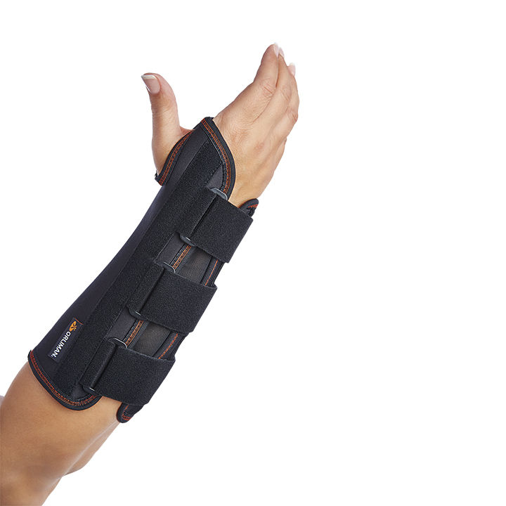 WRIST SUPPORT WITH RIGID PALMAR SPLINT