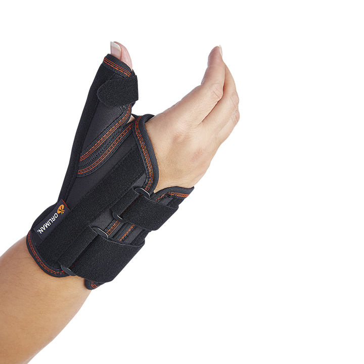 WRIST SUPPORT WITH RIGID THUMB SPLINT
