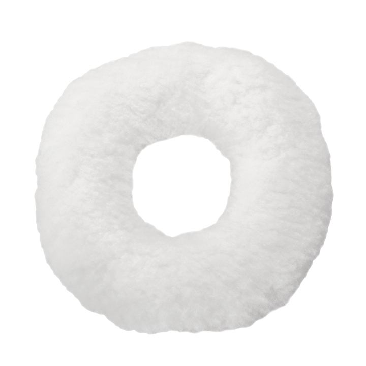 Cojín antiescaras Soft redondo blanco