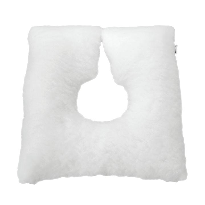 Cojín antiescaras Soft herradura blanco