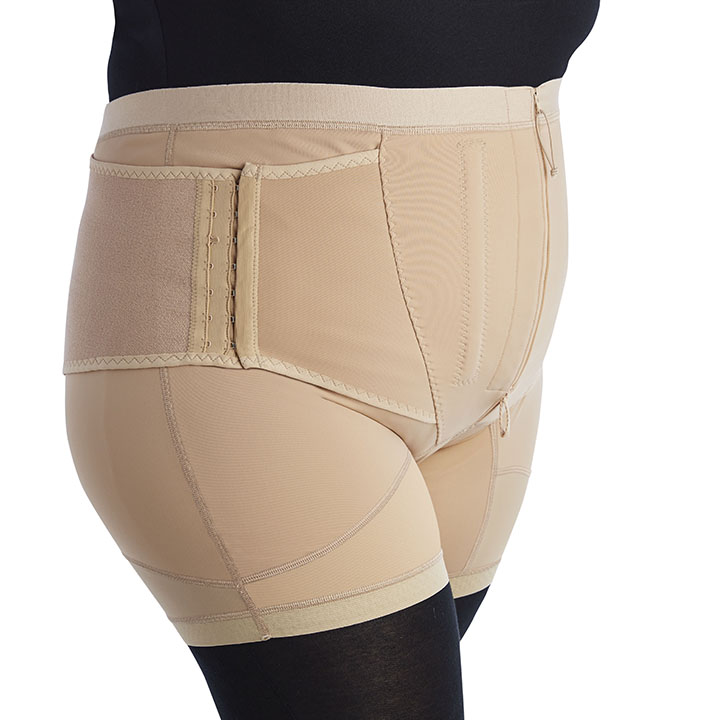 GIRDLE TROUSERS WITH LUMBAR SUPPORT