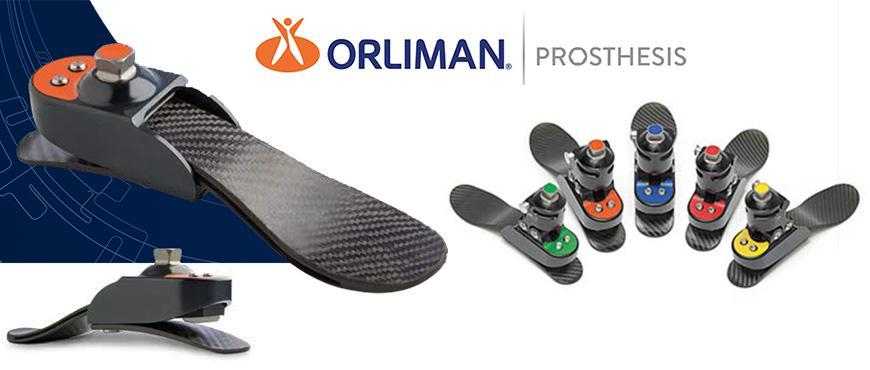 Descubre las nuevas prótesis de pie de carbono de Orliman Prosthesis