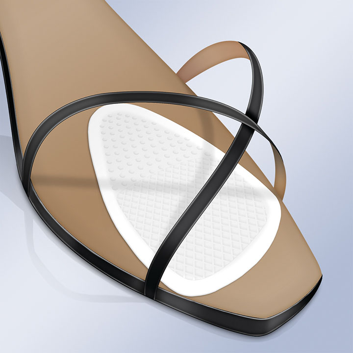 INVISIBLE FOREFOOT RELIEF PAD/BALL OF FOOT GEL CUSHION