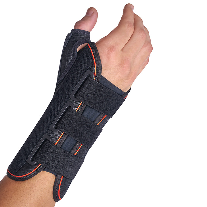 MEDIUM SEMI-RIGID WRIST SUPPORT WITH PALMAR/THUMB SPLINT