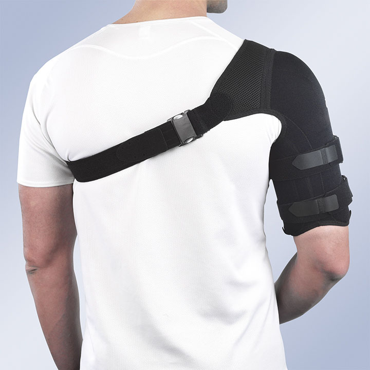 THERMOPLASTIC HUMERAL BRACE WITH FABRIC COVERING
