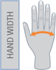 ANTI-SPASTICITY HAND IMMOBILISATION SPLINT