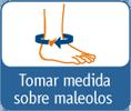 TOBILLERA DE NEOPRENO CON VENDAJE CRUZADO