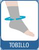 TOBILLERA ELÁSTICA GRADUABLE
