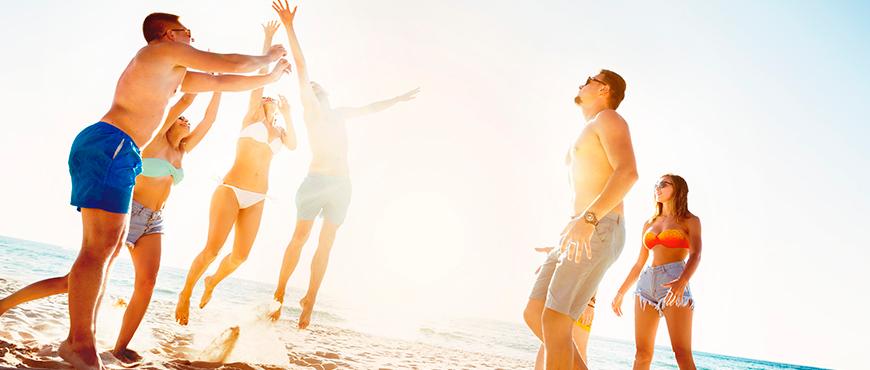 Las lesiones en el voleibol playa más habituales