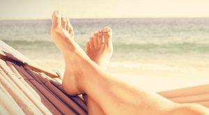 Cuidar tus pies en verano