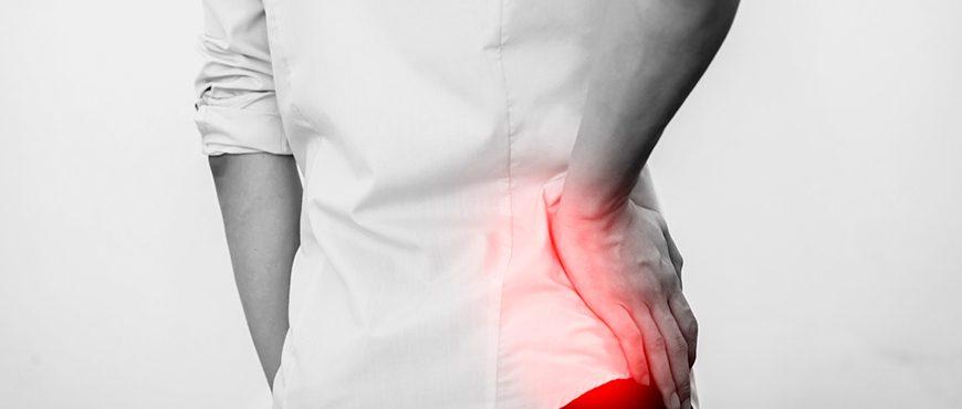la tensión muscular de la espalda puede causar dolor en la ingle
