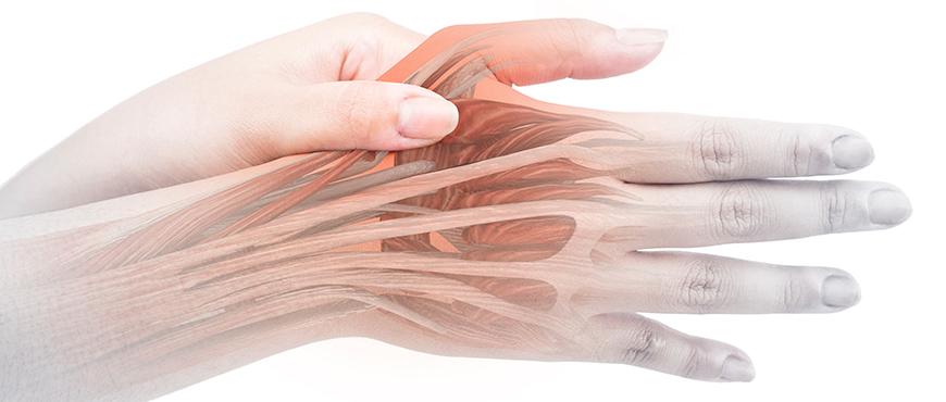 Dolor dedo gordo mano y codo