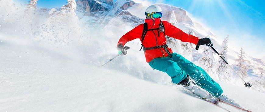 rotura de menisco esquiando