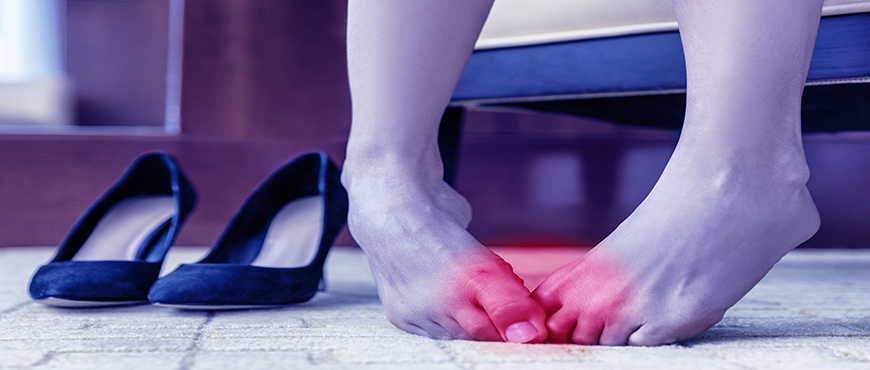 Morton's neuroma insoles relieve and reduce pressure