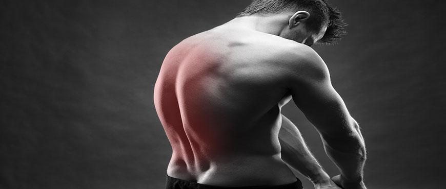 El absceso sobre la espalda duele