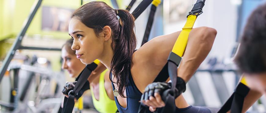 Ejercicios de TRX para los distintos tipos de dolores de espalda