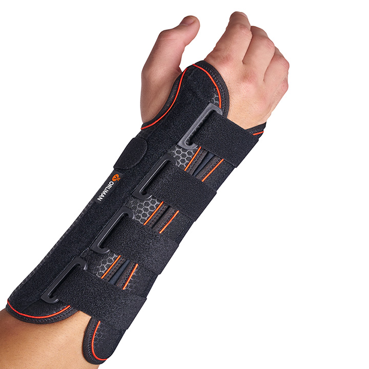 SEMI-RIGID WRIST SUPPORT WITH PALMAR SPLINT/ LONG